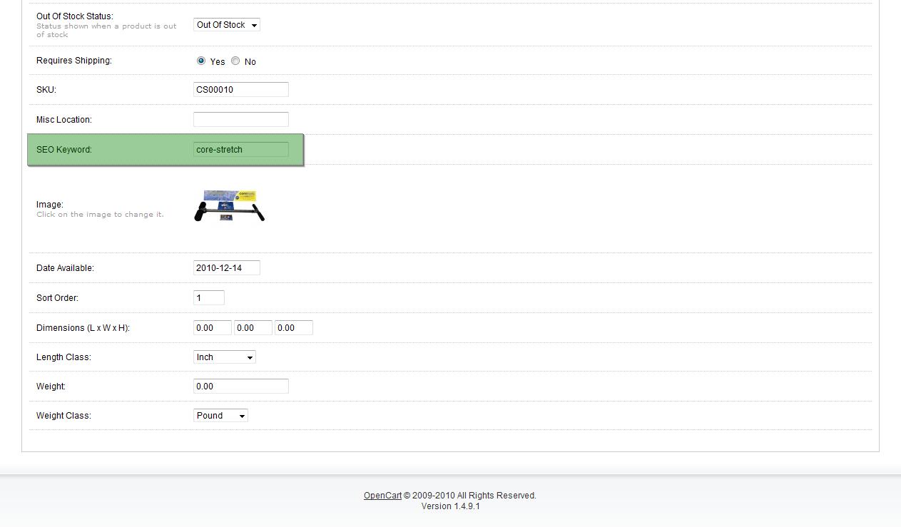 Enabling SEO URLs in OpenCart - Web Development Company