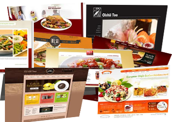 Restaurant web site restaurants website templates for Restaurant builder software