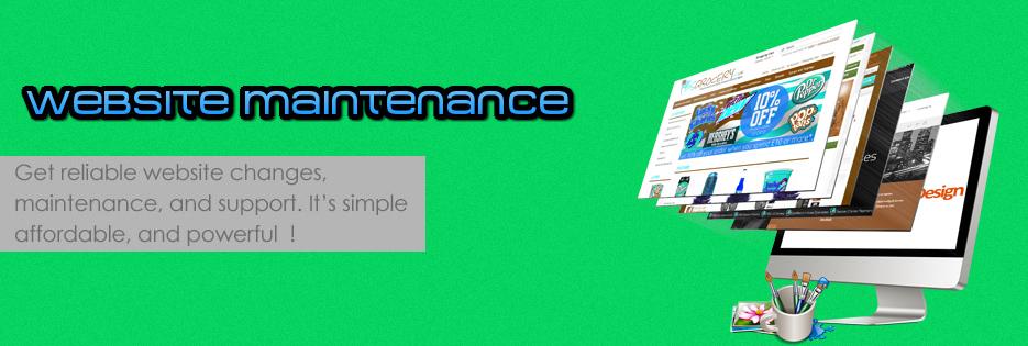 web-mantaince