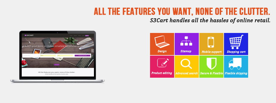 S3cart- Ecommerce & Online Shopping Cart Software Solution